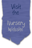 Banner nodigt u uit om de Mother Goose Nurseries website te bezoeken.